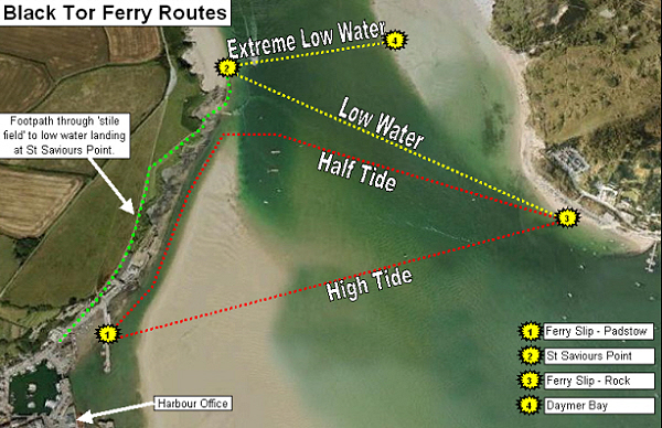 Padstow Ferry Routes